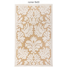 Dywan Carpetforyou Beige Leaves