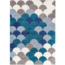Dywan Carpetforyou Blue Pearls