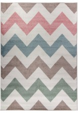 Dywan Carpetforyou Waves Pastel